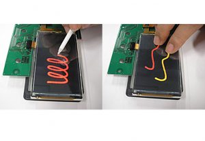 resistive touch screen and capacitive touch screen