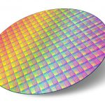 Silicon plate with processor cores