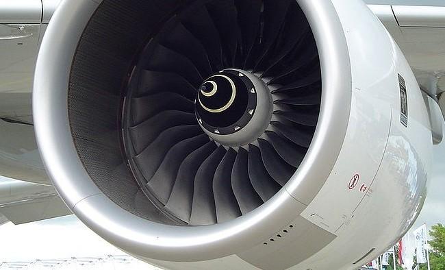 Titanium Aeroplane Engine