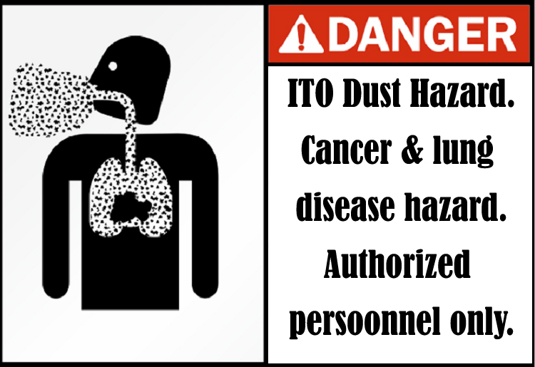 How to Prevent the Damage of ITO Exposure?