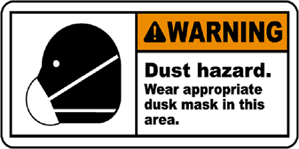 mask should be used in the area