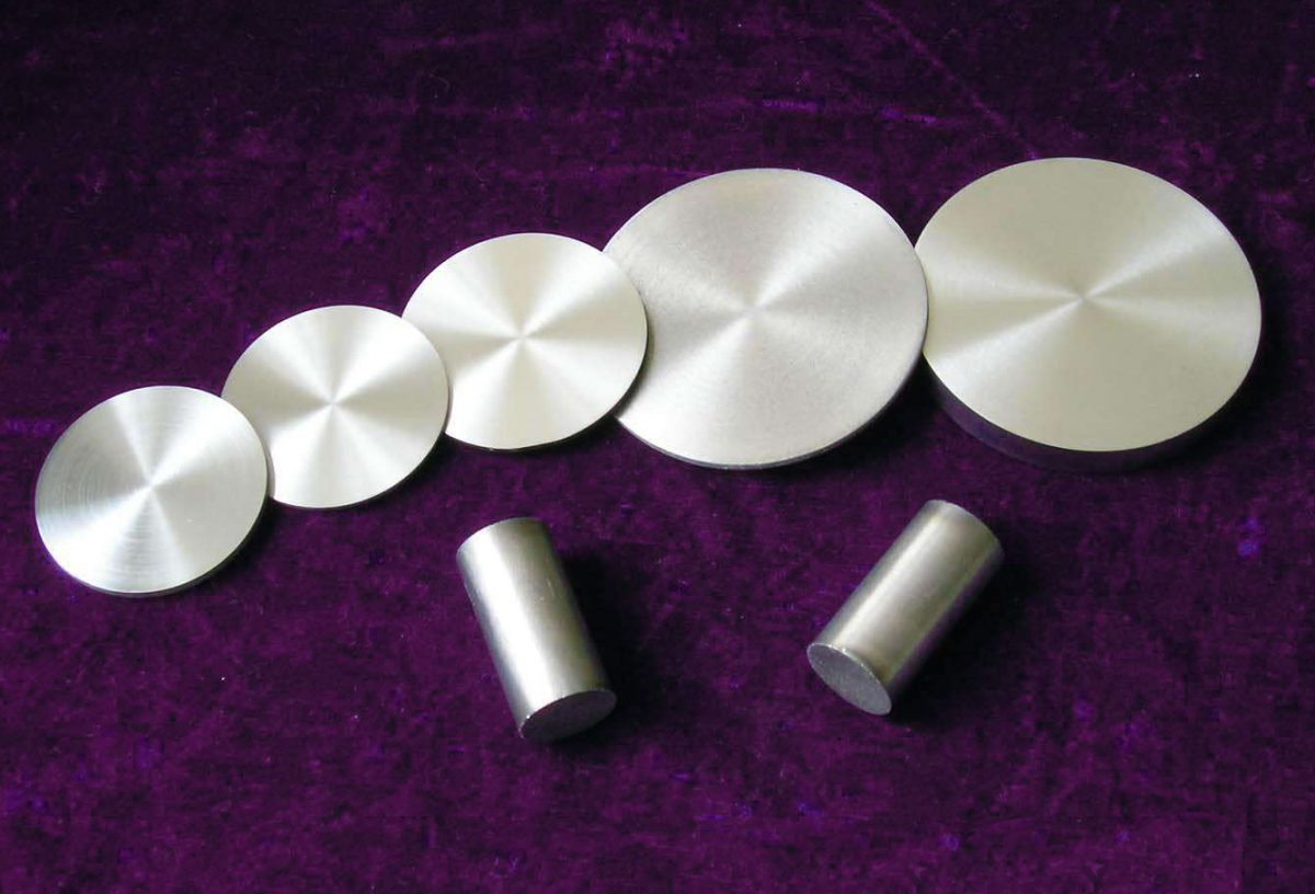 Sputtering Target Materials for Vacuum Thin Film Coating