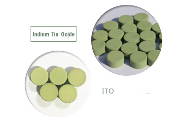 indium tin oxide evaporation pellets