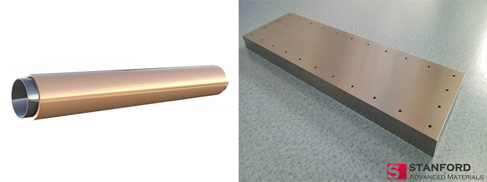 planar and rotory copper sputtering target